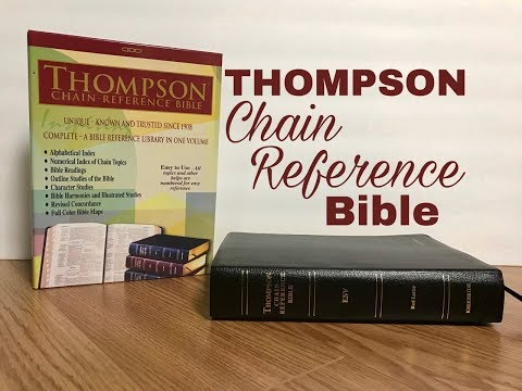 ESV Thompson Chain Reference Bible Review
