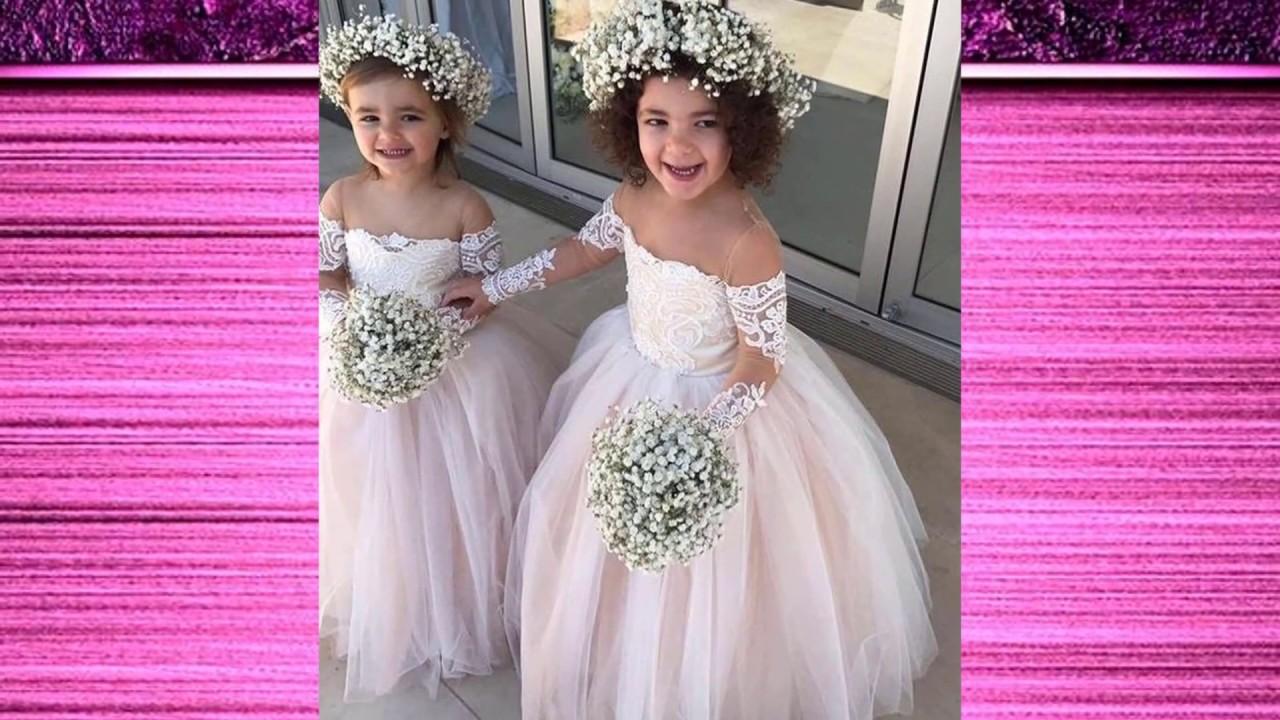Moda Reino Unido mejores zapatillas de deporte Vestidos lindos para Pajecitas boda, matrimonio ♥ Todo para mi Boda