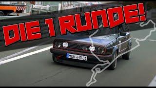 HOW DEEP? //  NORDSCHLEIFE / VW GOLF 2 GTI 16V - DIE ERSTE RUNDE
