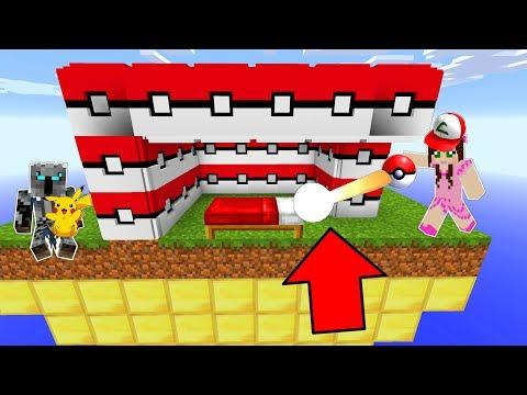 Minecraft: POKEMON LUCKY BLOCK BEDWARS! - Modded Mini-Game