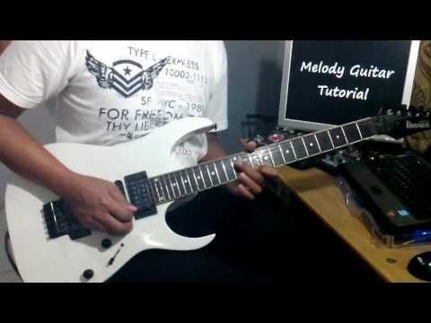 Dewa   Roman Picisan Cover Melody Guitar Tutorial