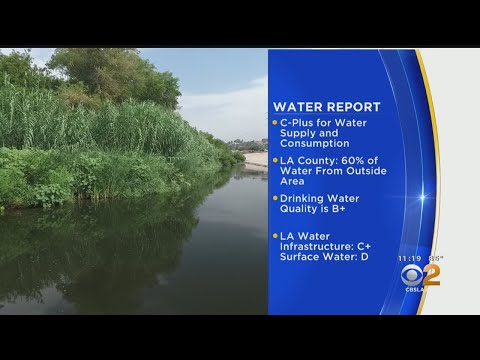 UCLA Gives Los Angeles A C+ In Water Report