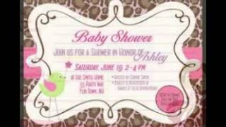 Printable Baby Shower Invites