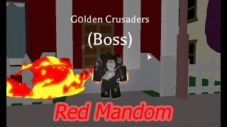 [roblox] Project JoJo Red Mandom [Showcase]