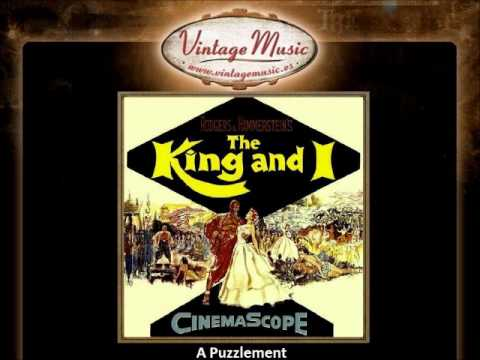 06   The King and I   A Puzzlement VintageMusic es