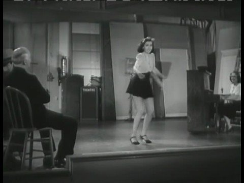 Early Ann Miller Dance Number