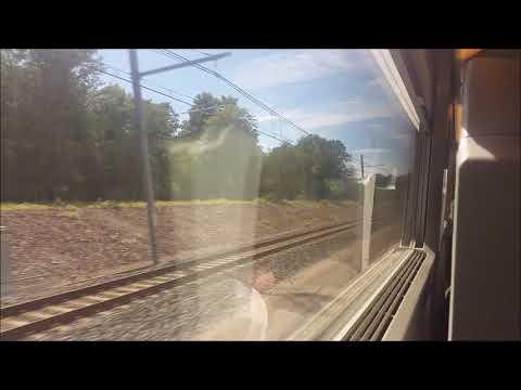 TGV Lyria : Dijon Mulhouse En été 2016