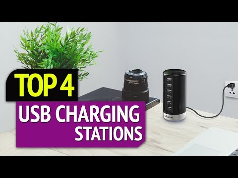 TOP 4: Best USB Charging Stations 2019