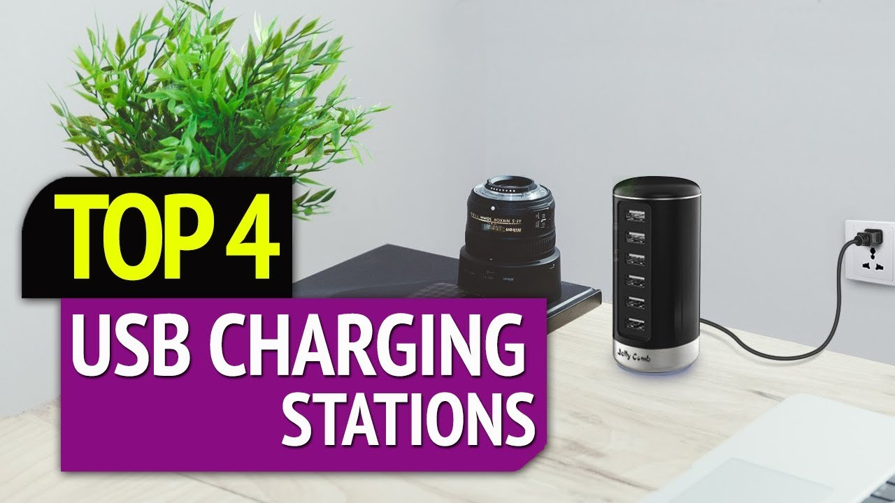 Best Usb Charging Station 2019 TOP 4: Best USB Charging Stations 2019   YouTube