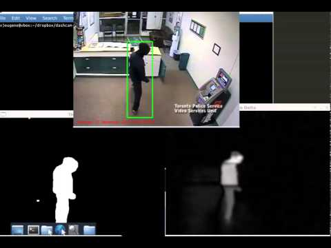 Motion Detection using OpenCV