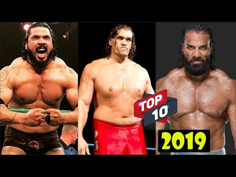 WWE Top 10 Indian Wrestlers Of All Time 2019 | The Great Khali, Sushil Kumar, Etc.[HD]