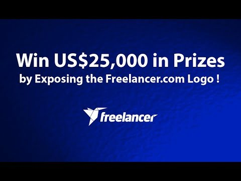 Win US$25,000 in Prizes by Exposing the Freelancer.com Logo ! Contest ends : 20/09/2017 !