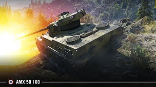 AMX 50 100 на Перевале | Топовый бой по опыту (2249 чистого)