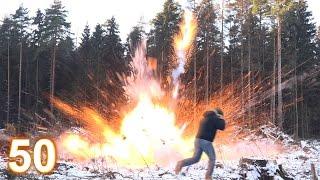 Взрыв 50 мощнейших петард России !(, 2015-12-30T16:21:38.000Z)