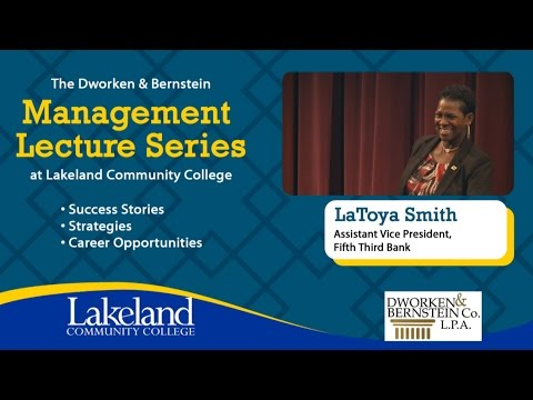 Management Lecture Series - LaToya Smith, Fifth Third Bank