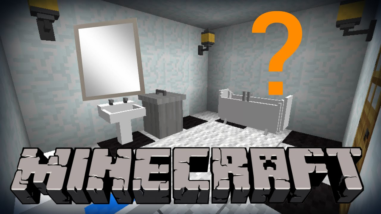 minecraft miroir tuto deco youtube. Black Bedroom Furniture Sets. Home Design Ideas