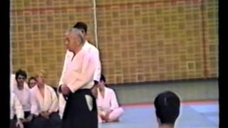 Osawa Kisaburo Sensei Yokomen Uchi Shiho Nage