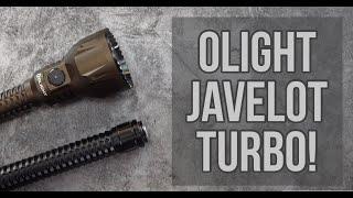 Olight Javelot Turbo Review!! #blackfriday2020