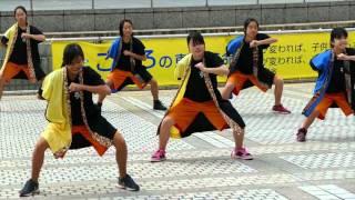 八王子市立みなみ野中学校ダンス部 ・2015東京舞祭『秋』・都民広場
