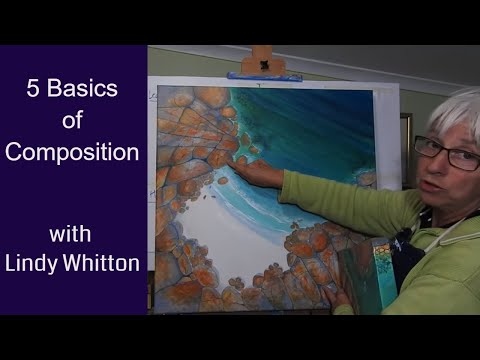 5 Basics of Composition-  better composition for paintings