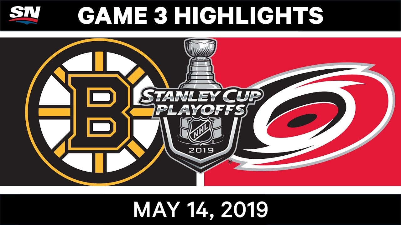 Video: Watch all the goals (and one near-goal) in the Bruins' Game 3 win over Carolina