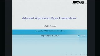 Accelerating Data Science with HPC: Advanced Approximate Bayesi Computations I, Albert thumbnail