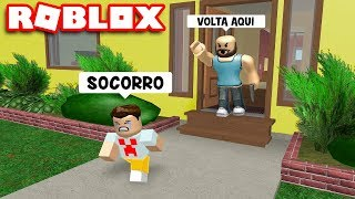 I RAN away FROM MY CRIMINAL FATHER at ROBLOX!!