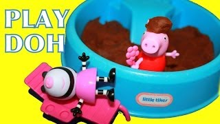 Alltoycollector Peppa Pig Playground Play-doh Mud Park Zoe Zebra Little Tikes Toys
