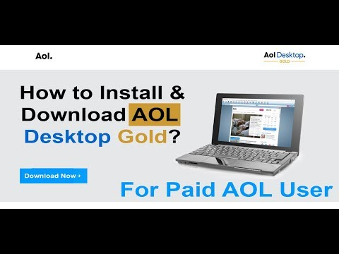How To Download And Install AOL Desktop Gold On MAC Or PC (For Paid AOL User) 2019