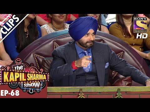 The Rhyming Game Between Anu Malik And Siddhu Paaji - The Kapil Sharma Show – 18th Dec 2016