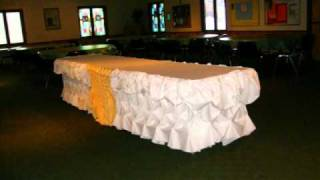 Table Skirting By Butler-chef Marciano
