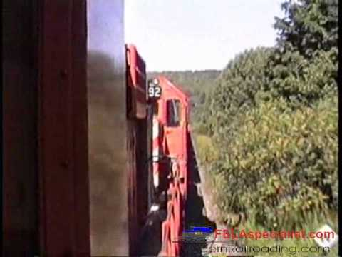 Freight Train Ride Binghamton To Oneonta - D&H / CP Rail