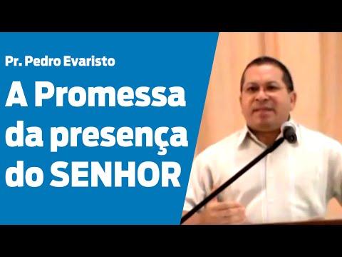 Êxodo 3.1-12 - A promessa da presença do Senhor - Pr. Pedro Evaristo