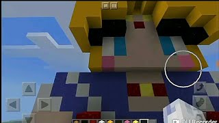 Hice a Sailor Moon en Minecraft XD
