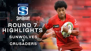 ROUND 7 HIGHLIGHTS | Sunwolves v Crusaders – 2020