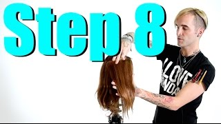 STEP 8 - 14 Steps To Becoming A Better Hair Colorist - BLOCK COLOR