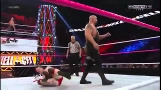 WWE Hell In A Cell 2012 Big Show vs Sheamus Highlights