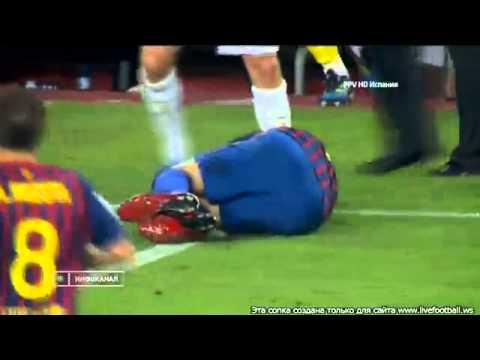 Барселона реал мадрид драка суперкубок