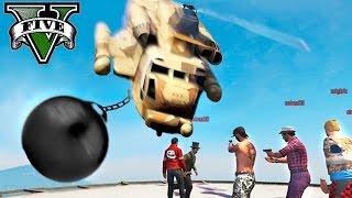 GTA V Online (PS4) - LA BOLA DE DEMOLICIÓN!! XDD - NexxuzHD