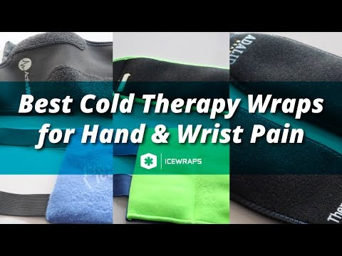 cbee4e5b3834 What are the Best Cold Therapy Wraps for Hand and Wrist Pain? - IceWraps