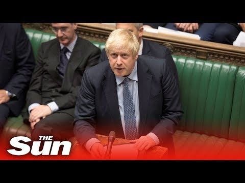 Boris Johnson puts his Brexit proposal to the Commons