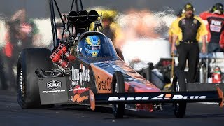 Clay Millican caps off his birthday by taking th top spot in Friday qualifying