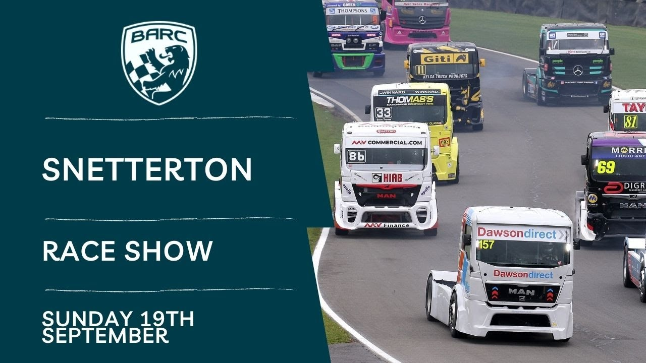 Download BARC LIVE   Race Show   Snetterton   September 19 2021