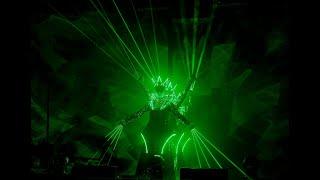 """Световое-лазерное шоу """"Зазеркалье""""/LED laser show """"Mirror kingdom"""""""