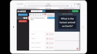 Quizizz tutorial