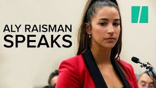 "Aly Raisman""s Powerful Message To Abuser Larry Nassar"
