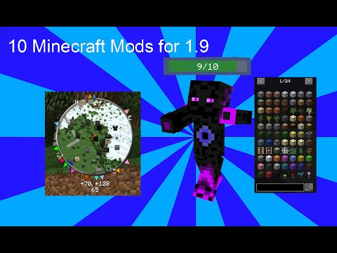 10 Minecraft Client Side Mods for 1.9