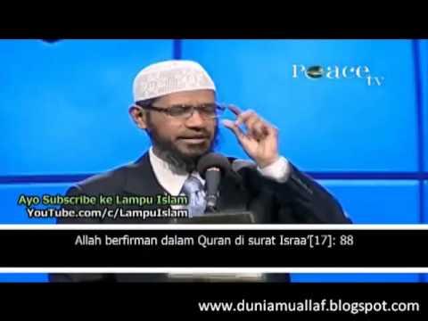 UJI KEPALSUAN AL QURAN UNTUK MEMBUKTIKAN KEBENARAN AL QURAN -Dr. Zakir Naik- Apa Injil Berani Diuji?