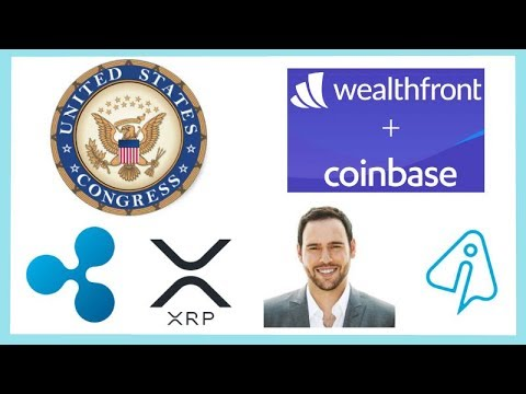 """New US Crypto Law """"Token Taxonomy Act"""" - Wealthfront Coinbase - Scooter Braun XRP - InstaRem xRapid Mp3"""