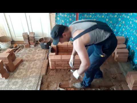Как сложить маленькую печь из кирпича своими руками для дачи